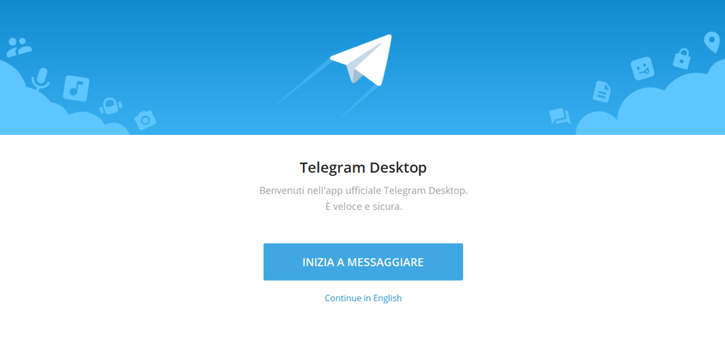 come funziona telegram desktop